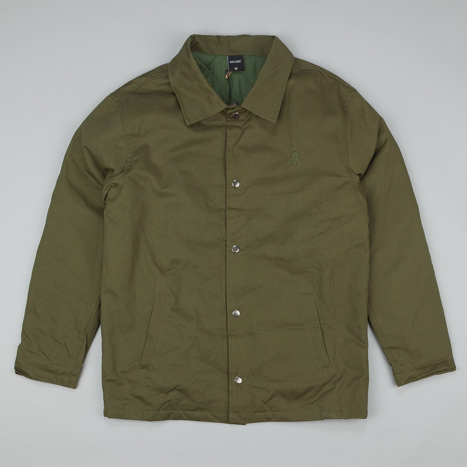 Pass Port Workers Jacket - Grass