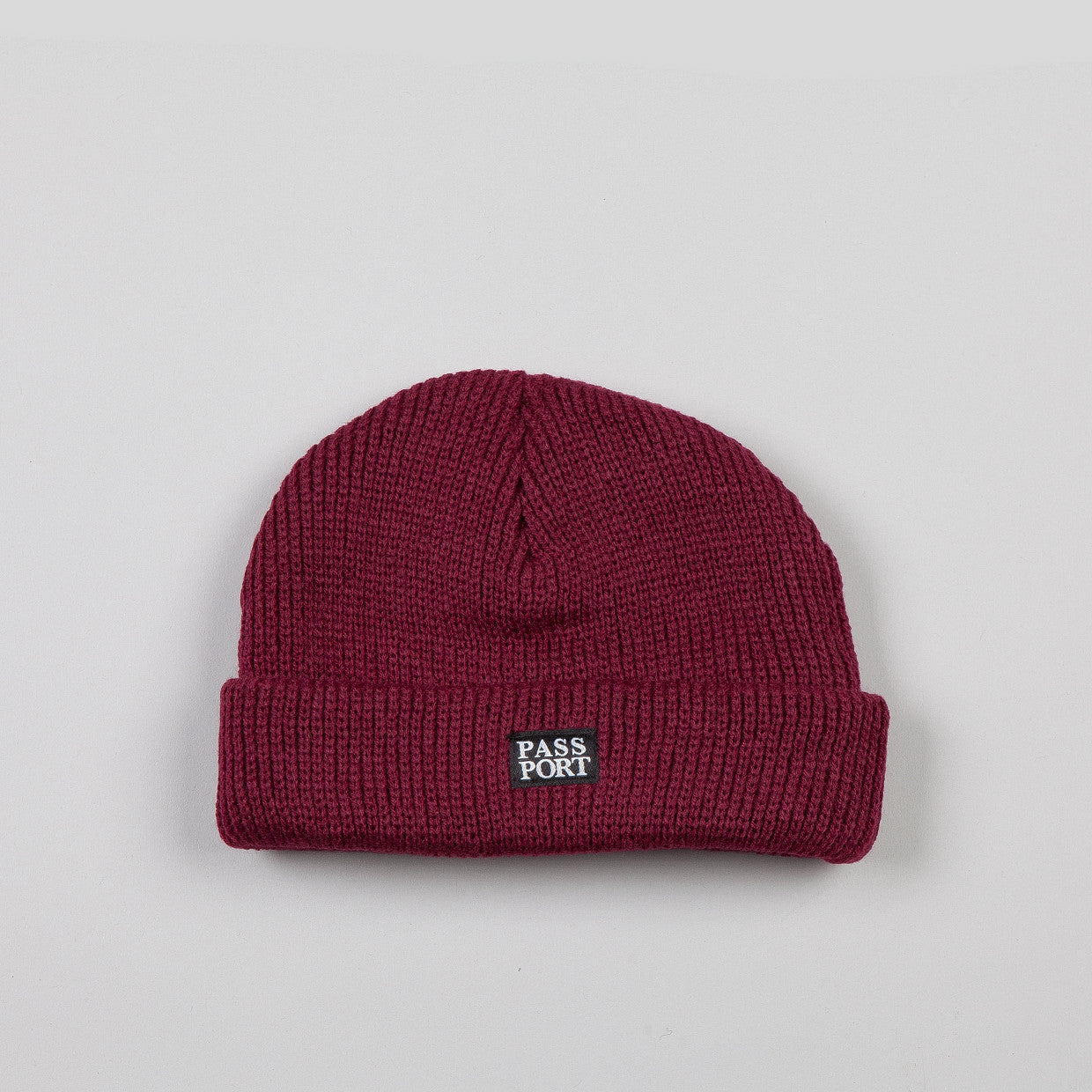 Pass Port Official Beanie Burgundy