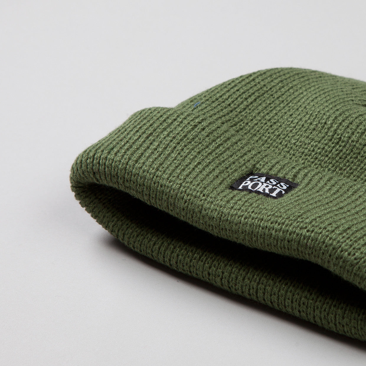 Pass Port Official Beanie Green