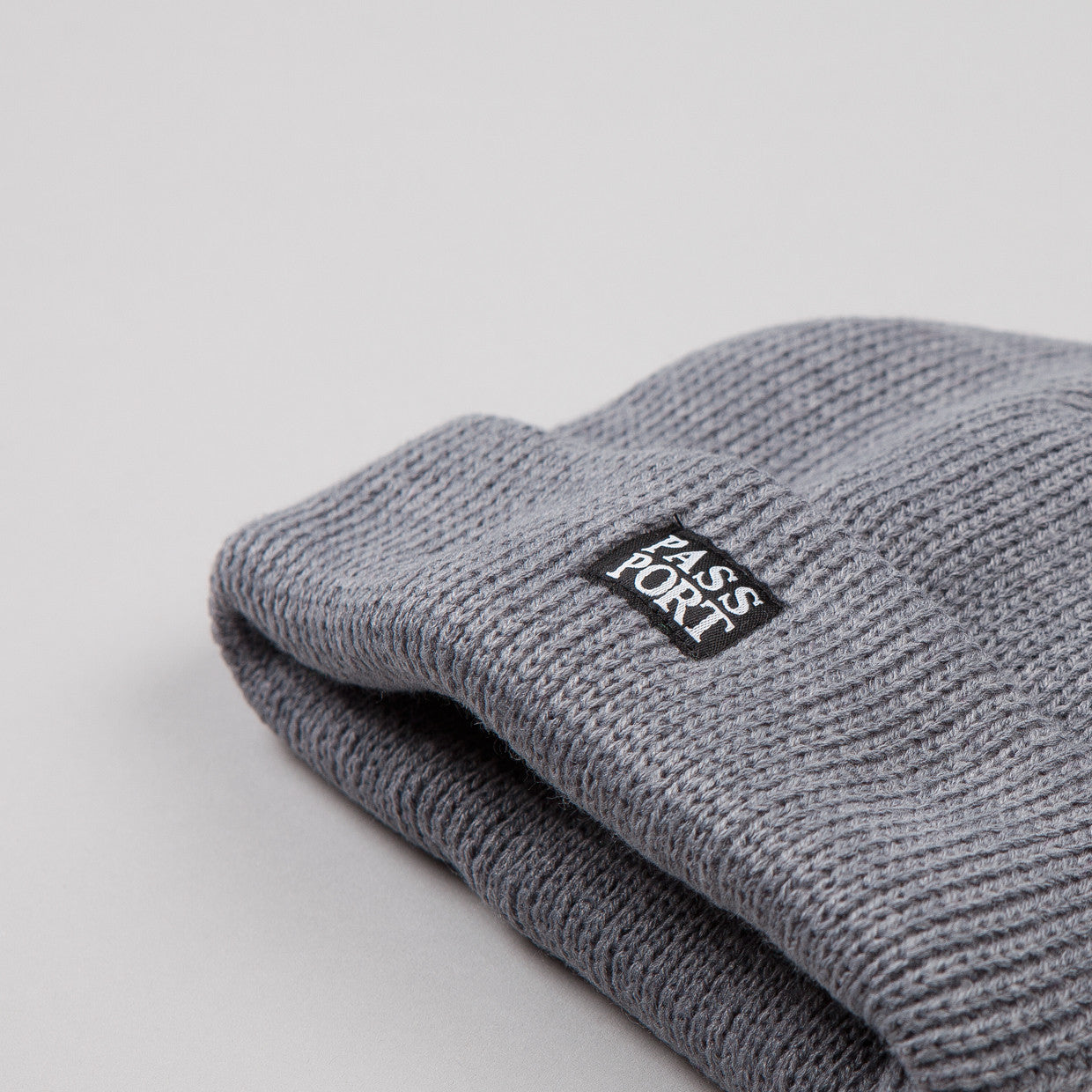 Pass Port Official Beanie Grey