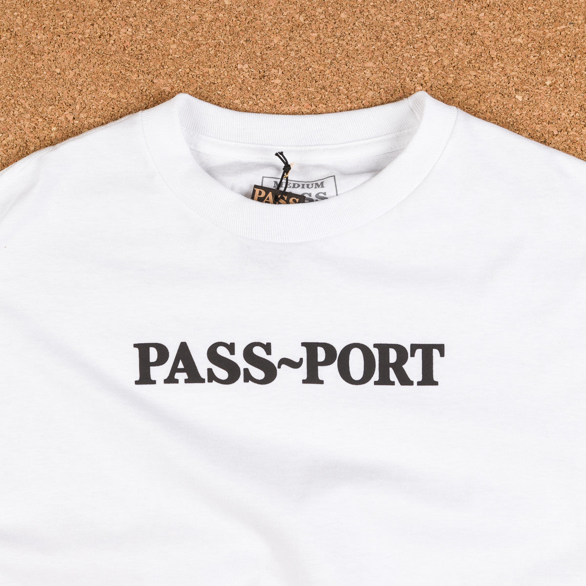 Pass Port Official Puff Long Sleeve T-Shirt - White