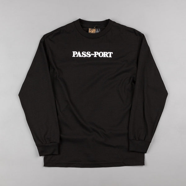 Pass Port Official Puff Long Sleeve T-Shirt - Black
