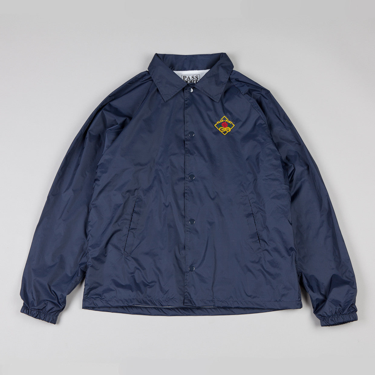 Pass Port Community Rose Coach Jacket Navy