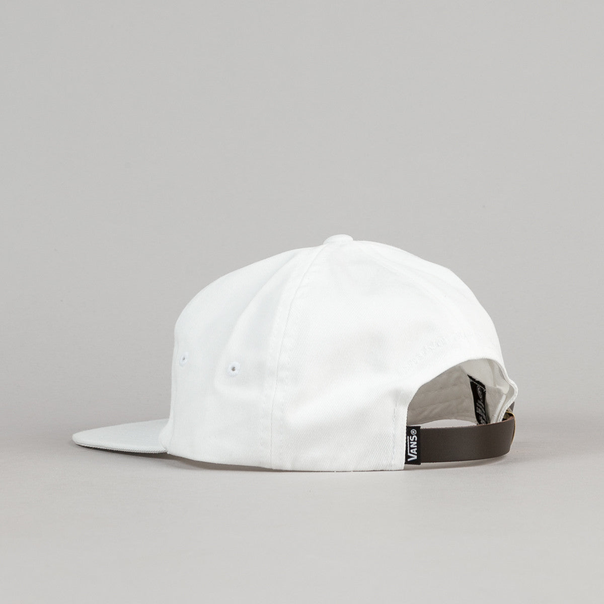 Vans x Pass Port Unstructured Cap - White