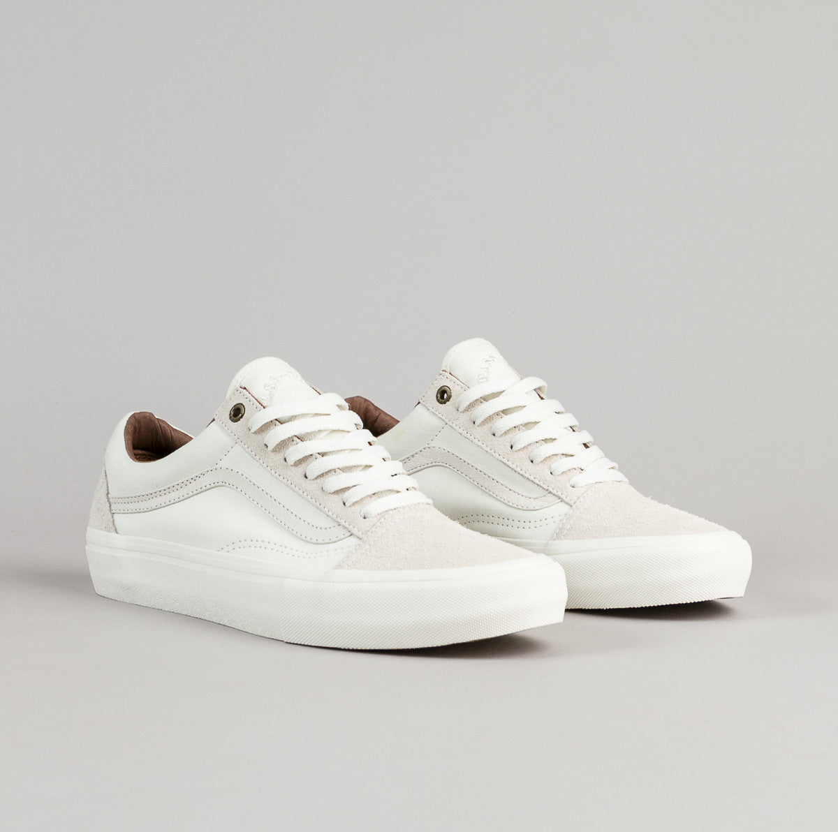 Vans x Pass Port Old Skool Pro Shoes - White