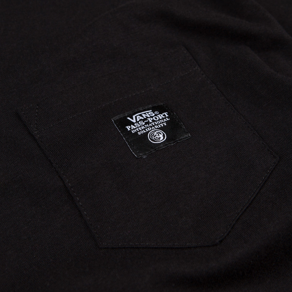 Vans x Pass Port Pocket T-Shirt - Black