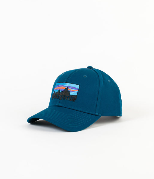 Patagonia '73 Logo Roger That Cap - Big Sur Blue