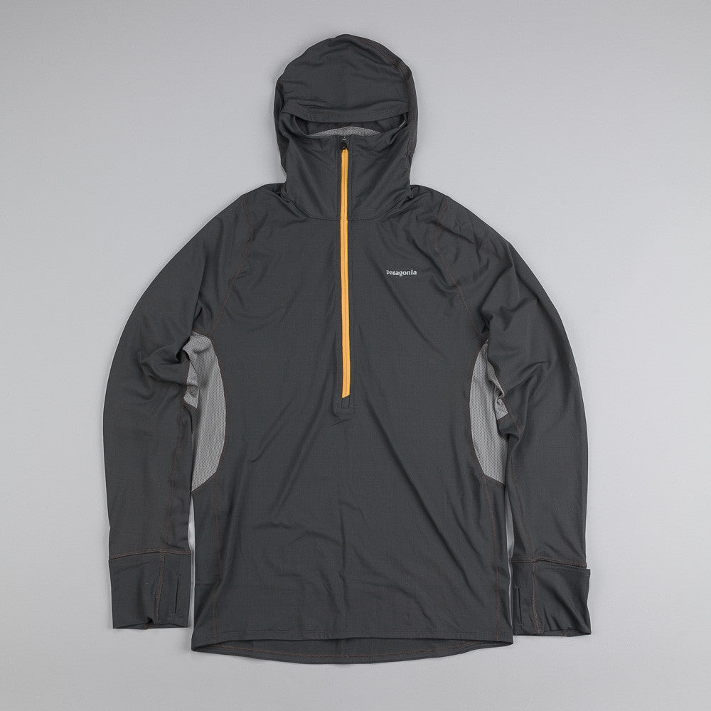 Patagonia All Weather Zip-Neck Hoody Forge Grey
