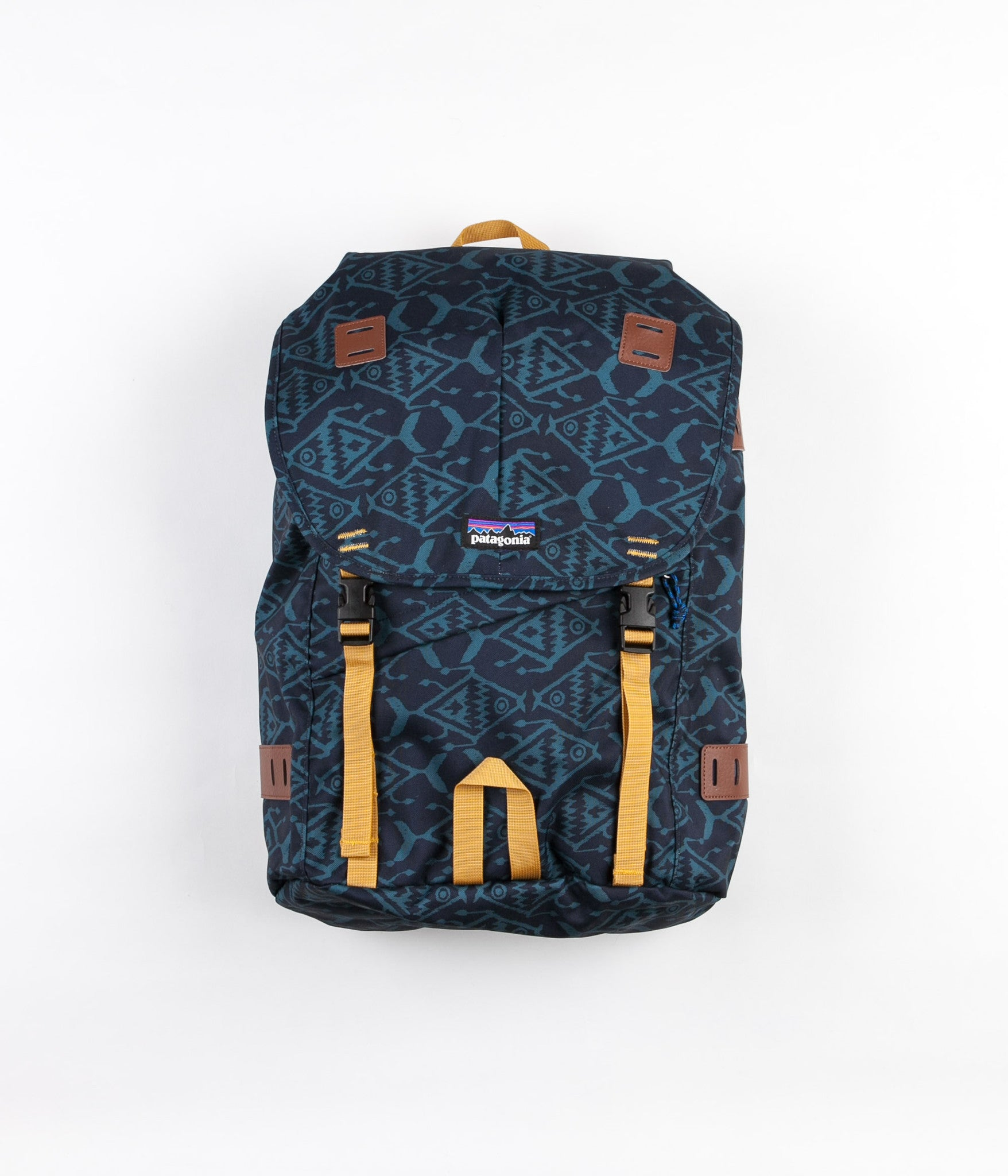 Patagonia Arbor Backpack - Ikat Fish Small / Bay Blue