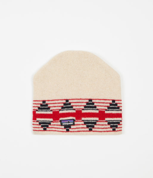 Patagonia Backslide Beanie - Pueblo Stripe / Toasted White