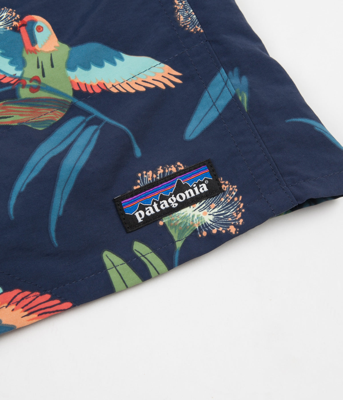 "Patagonia Baggies Longs 7"" Shorts - Parrots: Stone Blue"