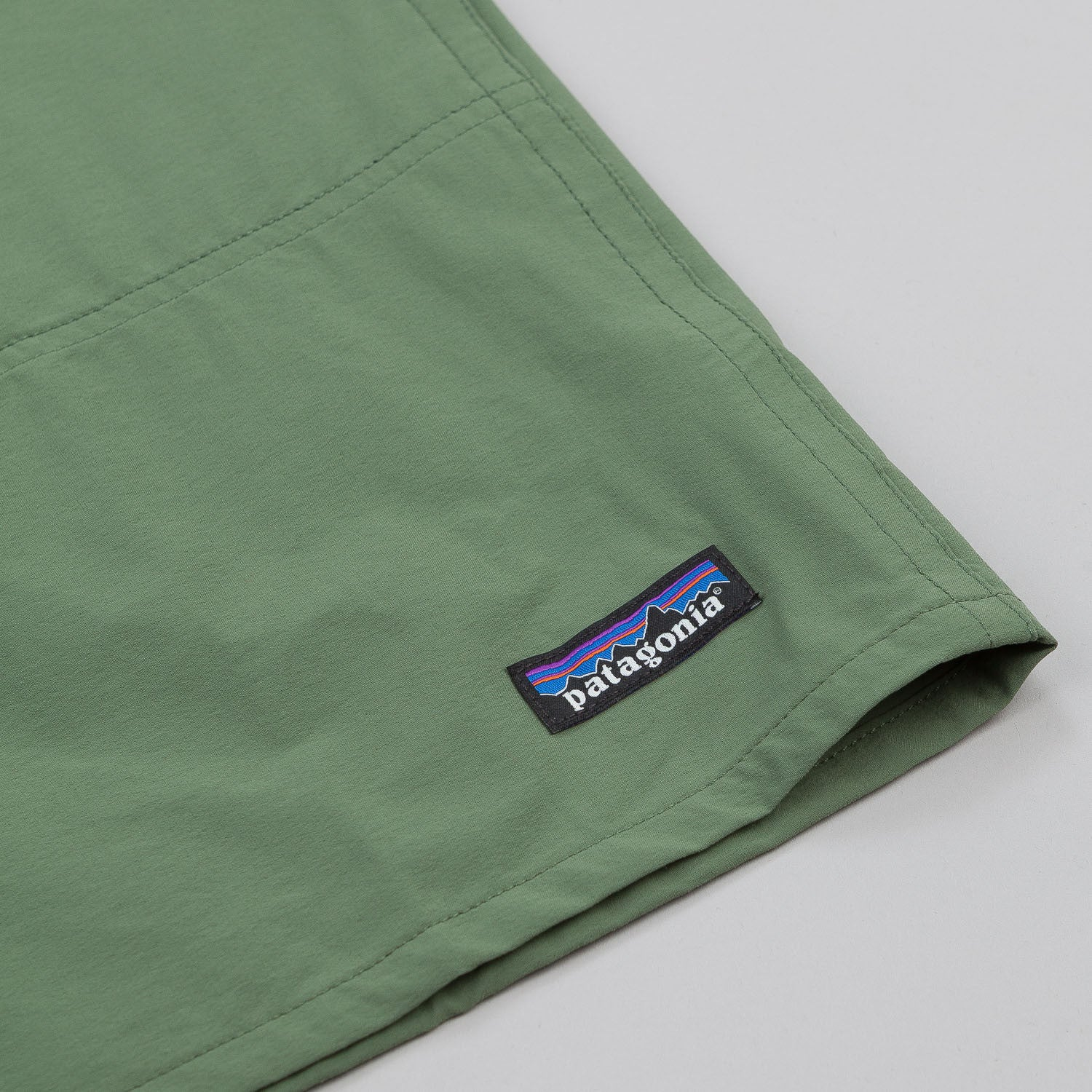 "Patagonia Baggies Stretch Shorts 9"" - Camp Green"