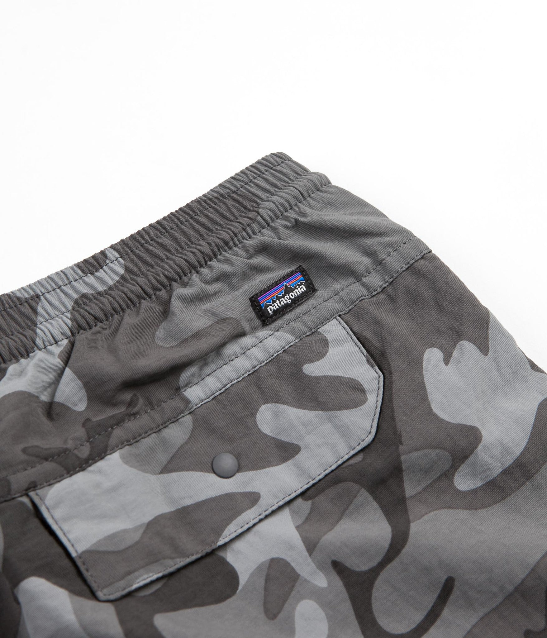 Patagonia Baggies Pants - Forest Camo / Forge Grey