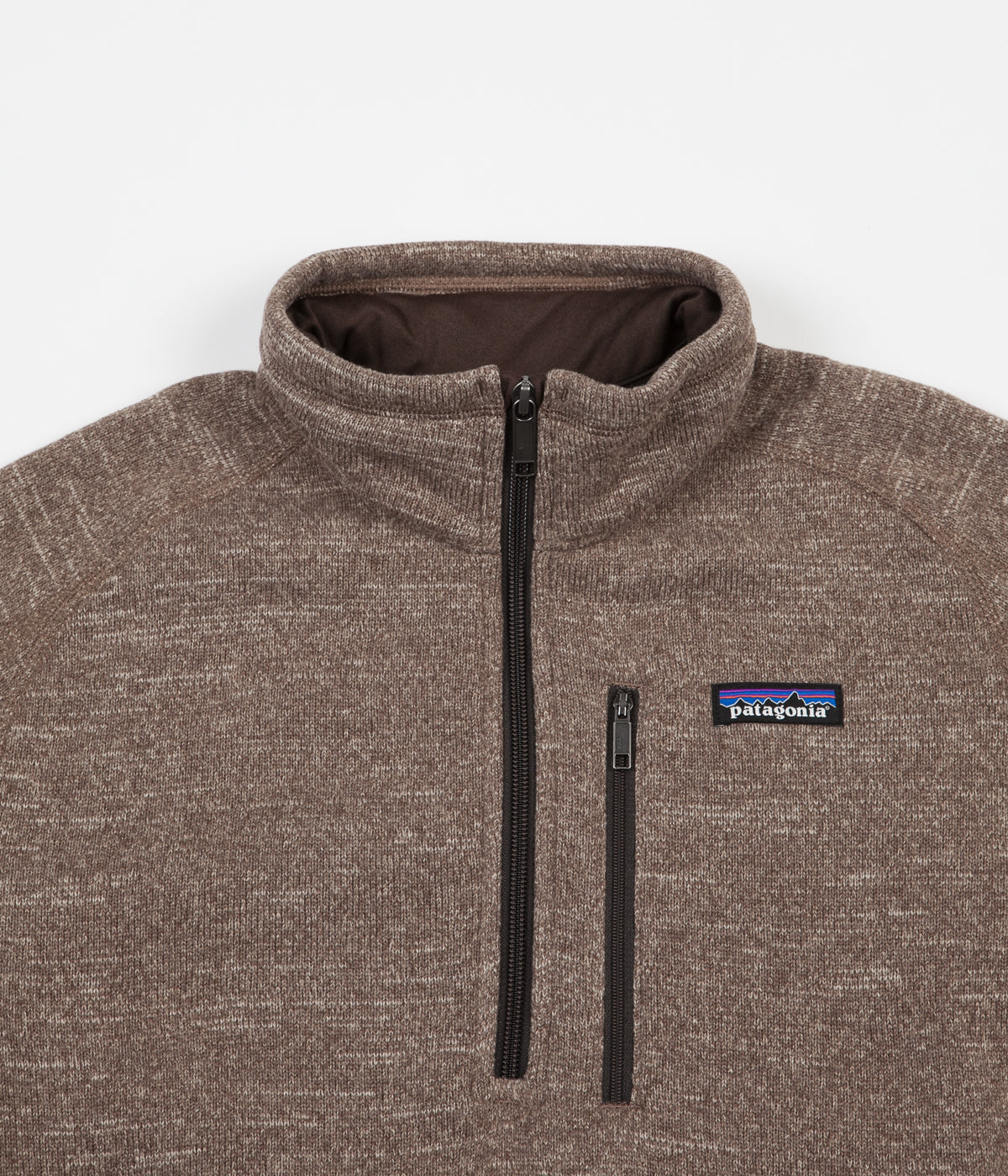 Patagonia Better Sweater 1/4 Zip Jacket - Pale Khaki