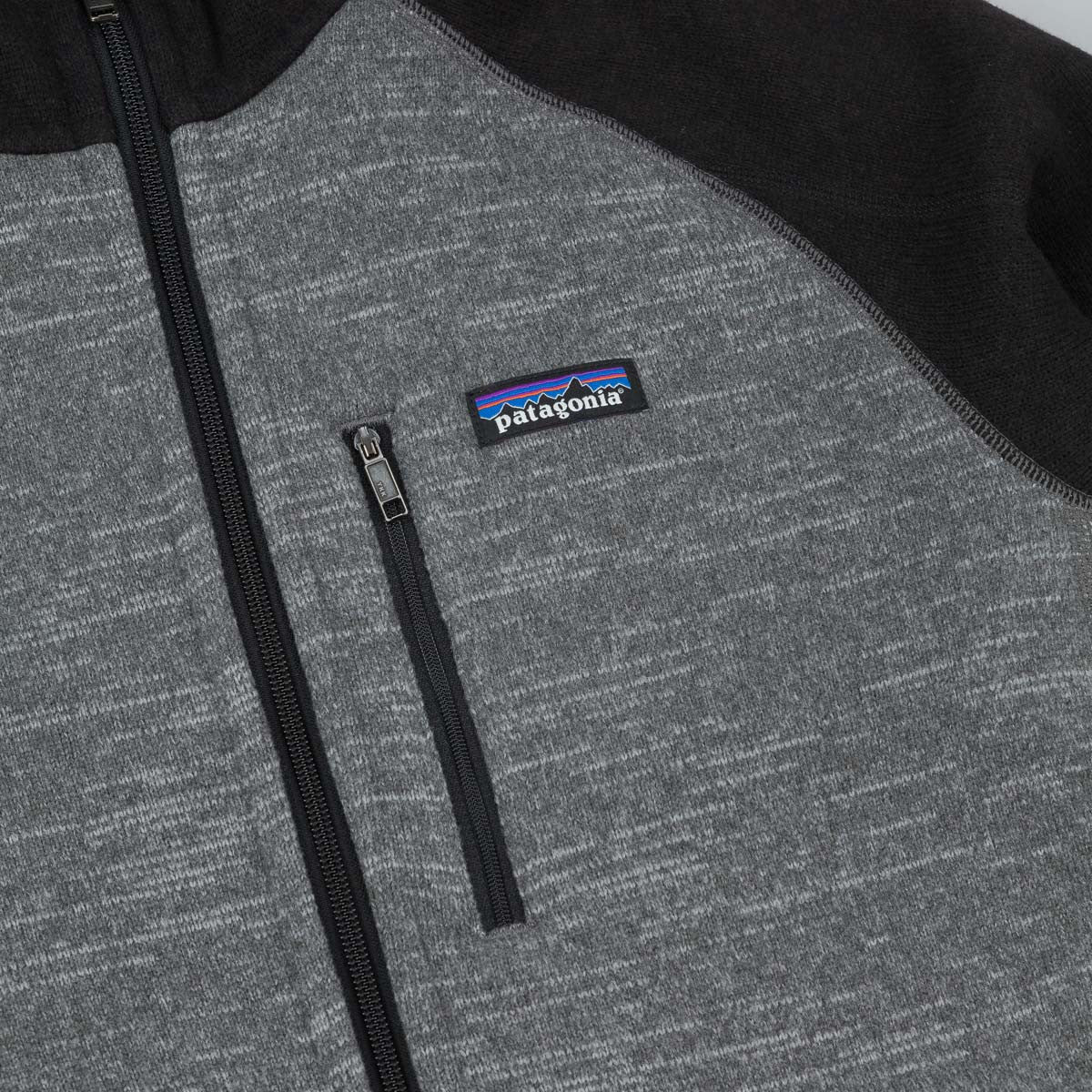 Patagonia Better Sweater Hooded Fleece - Nickel / Forge Grey