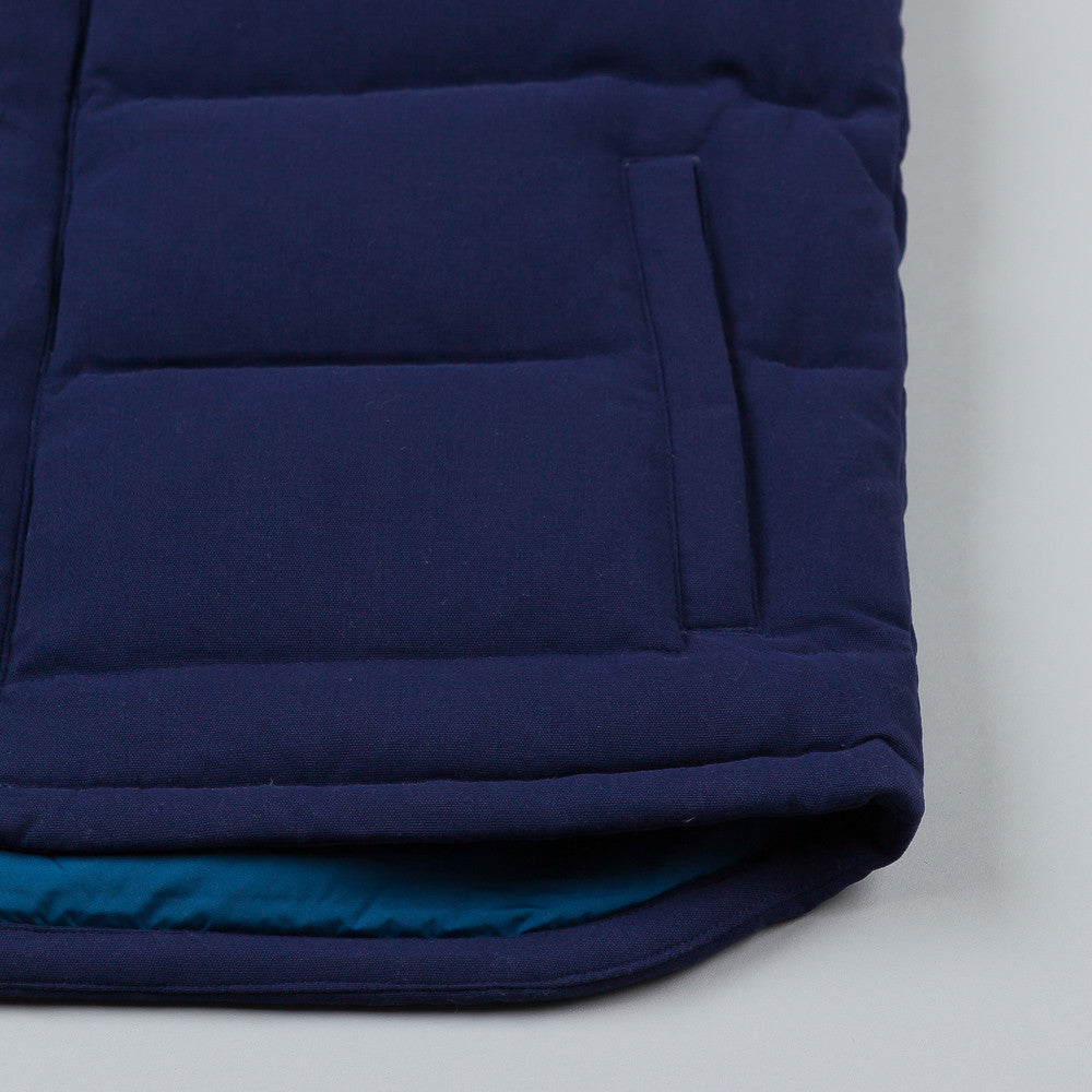 Patagonia Bivy Down Vest Classic Navy