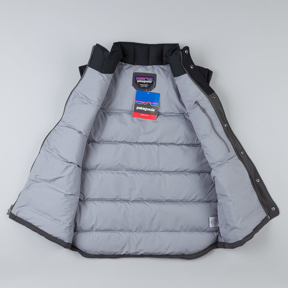 Patagonia Bivy Down Vest Forge Grey