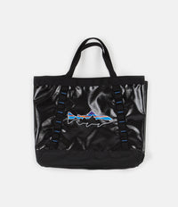 Patagonia Black Hole Gear Tote - Black with Fitz Trout