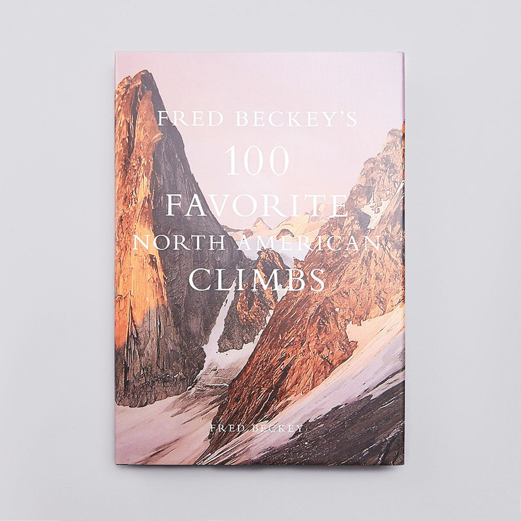 Patagonia Books 100 Favorite North American Climbs