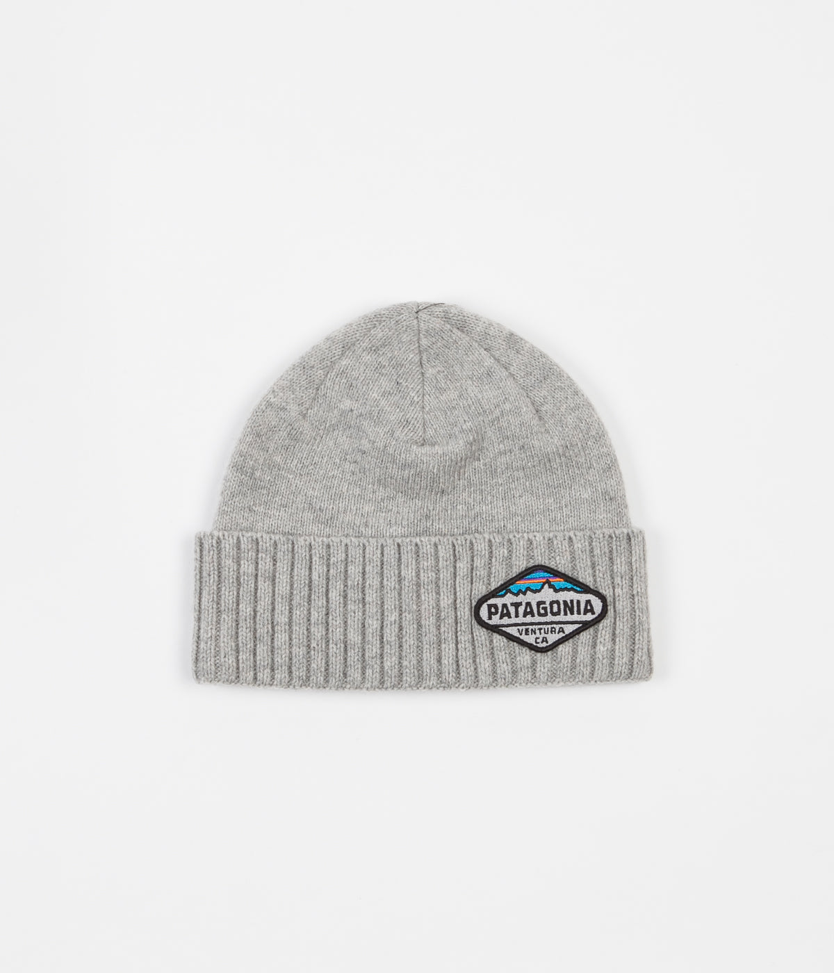 Patagonia Brodeo Beanie - Fitz Roy Crest / Drifter Grey
