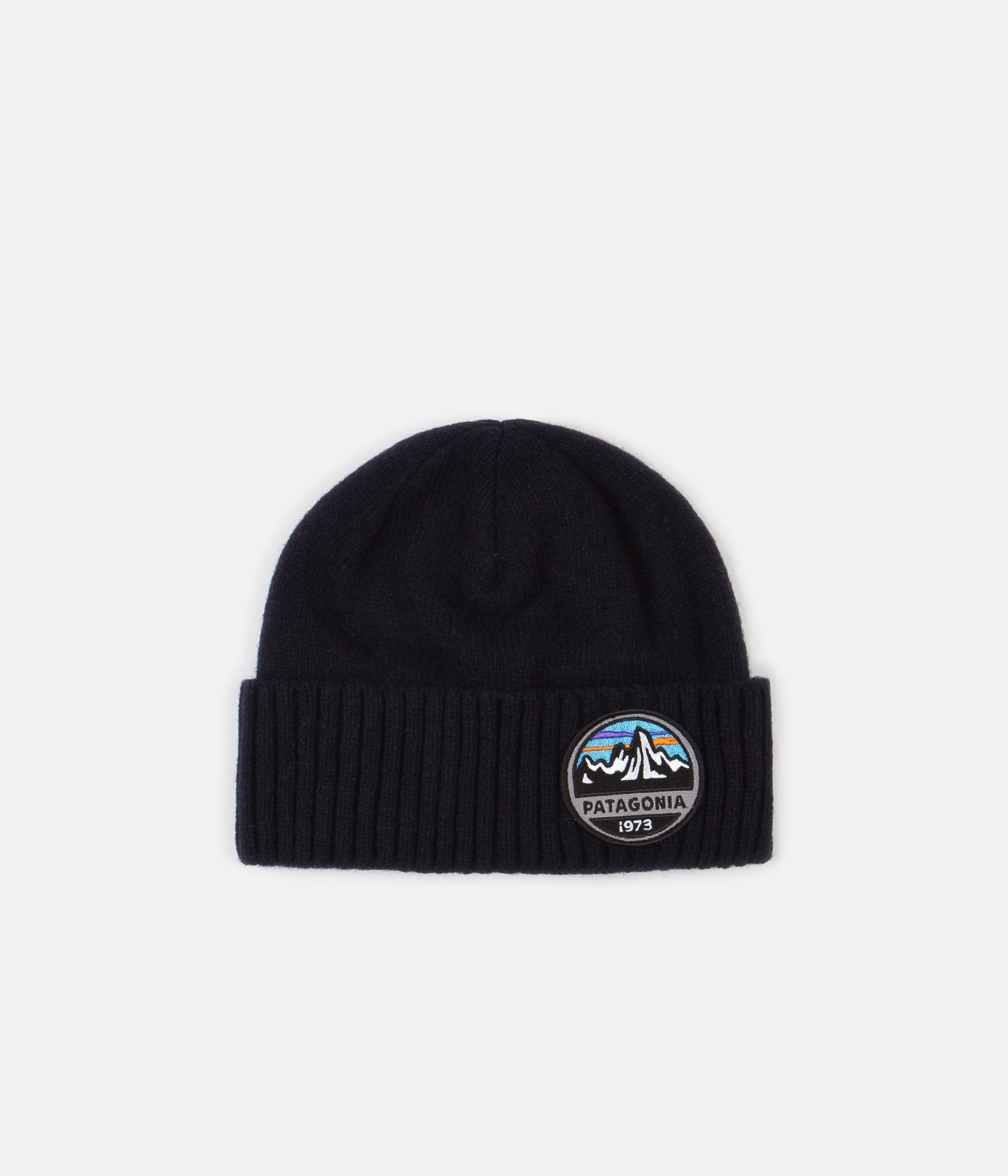 Patagonia Brodeo Beanie - Fitz Roy Scope: Navy Blue
