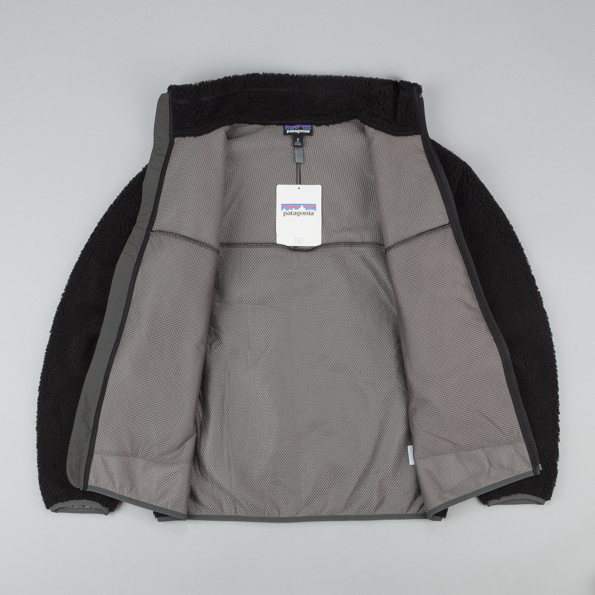 Patagonia Classic Retro-X Jacket - Black / Forge Grey