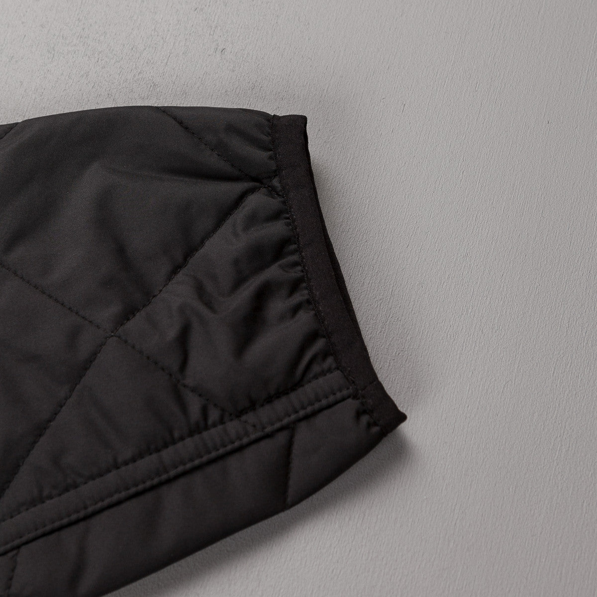 Patagonia Diamond Quilted Bomber Jacket - Black