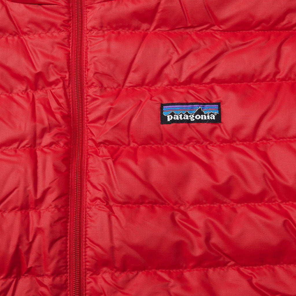 Patagonia Hooded Down Sweater Red Delicious