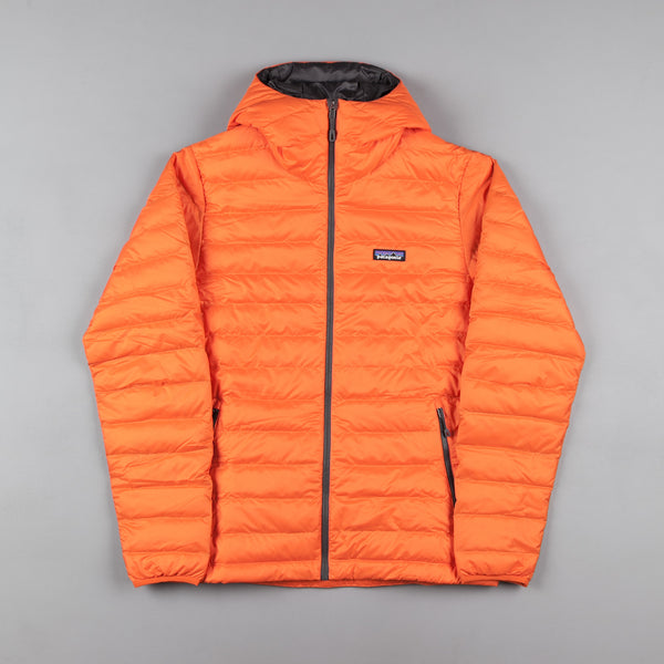 International Trucks For Sale >> Patagonia Down Sweater Hooded Jacket - Cusco Orange | Flatspot