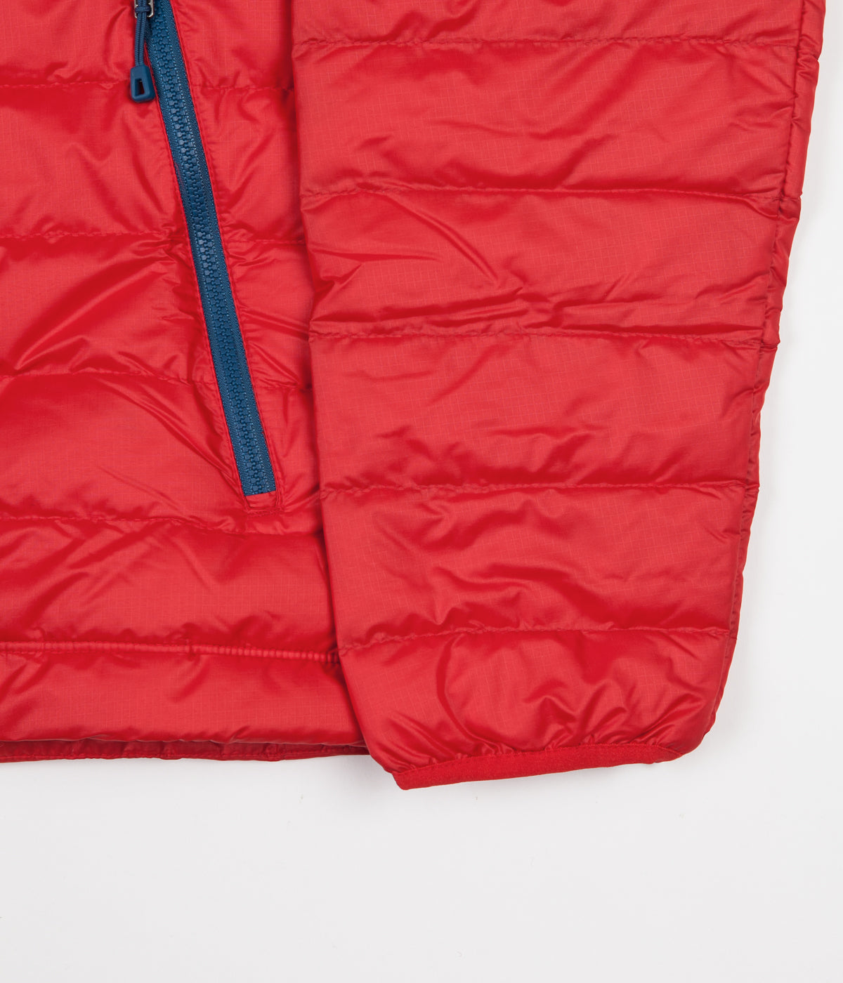 Patagonia Down Sweater Hooded Jacket - Fire