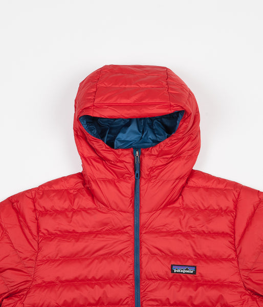 7d5f63a5a Patagonia Down Sweater Hooded Jacket - Fire