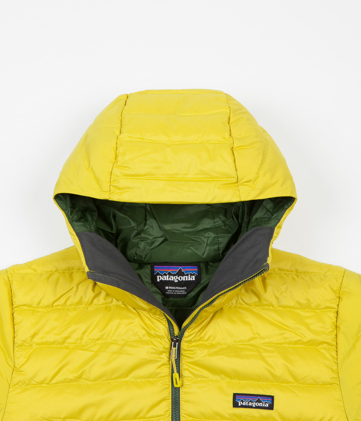 Patagonia Down Sweater Hooded Jacket Fluid Green Flatspot