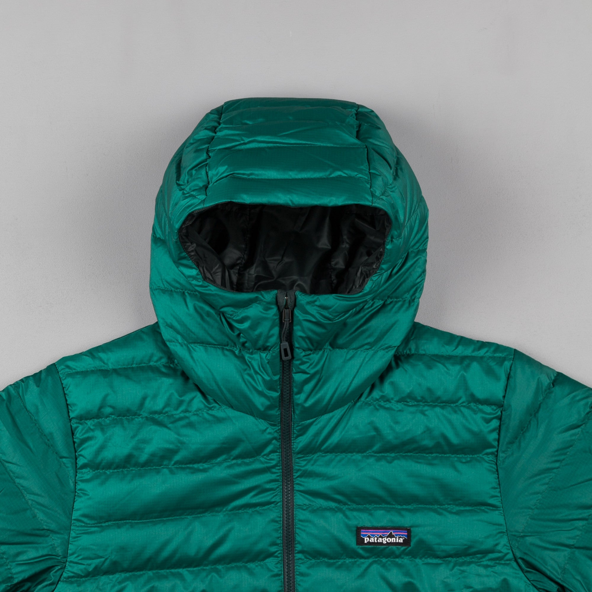 Patagonia Down Sweater Hooded Jacket - Legend Green
