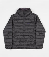 Patagonia Down Sweater Hooded Pullover Jacket - Forge Grey