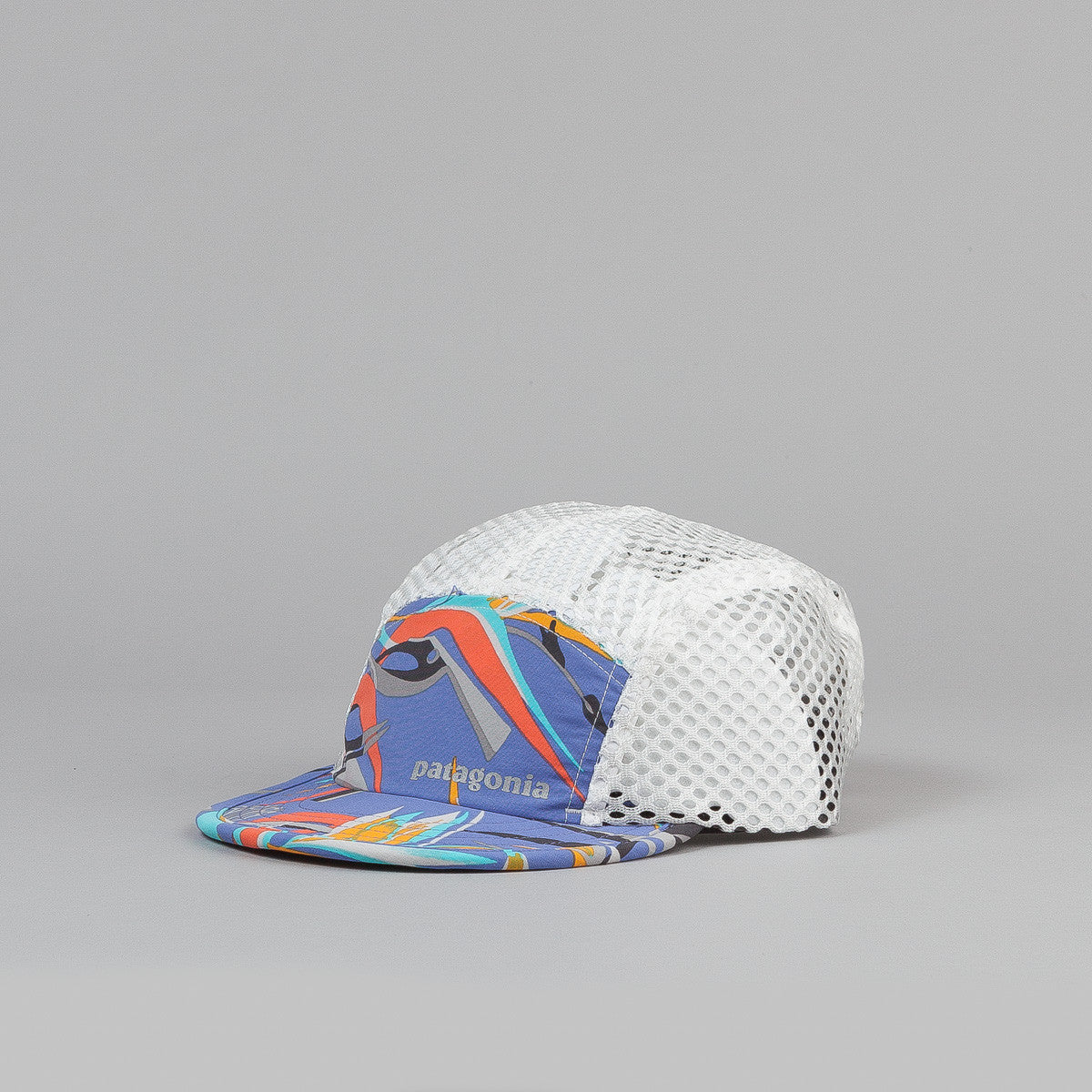 Patagonia Duckbill Cap - Piton Paradise : Violet Blue