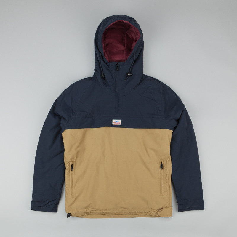 Penfield ELK Two Tone Pullover Hooded Anorak Navy