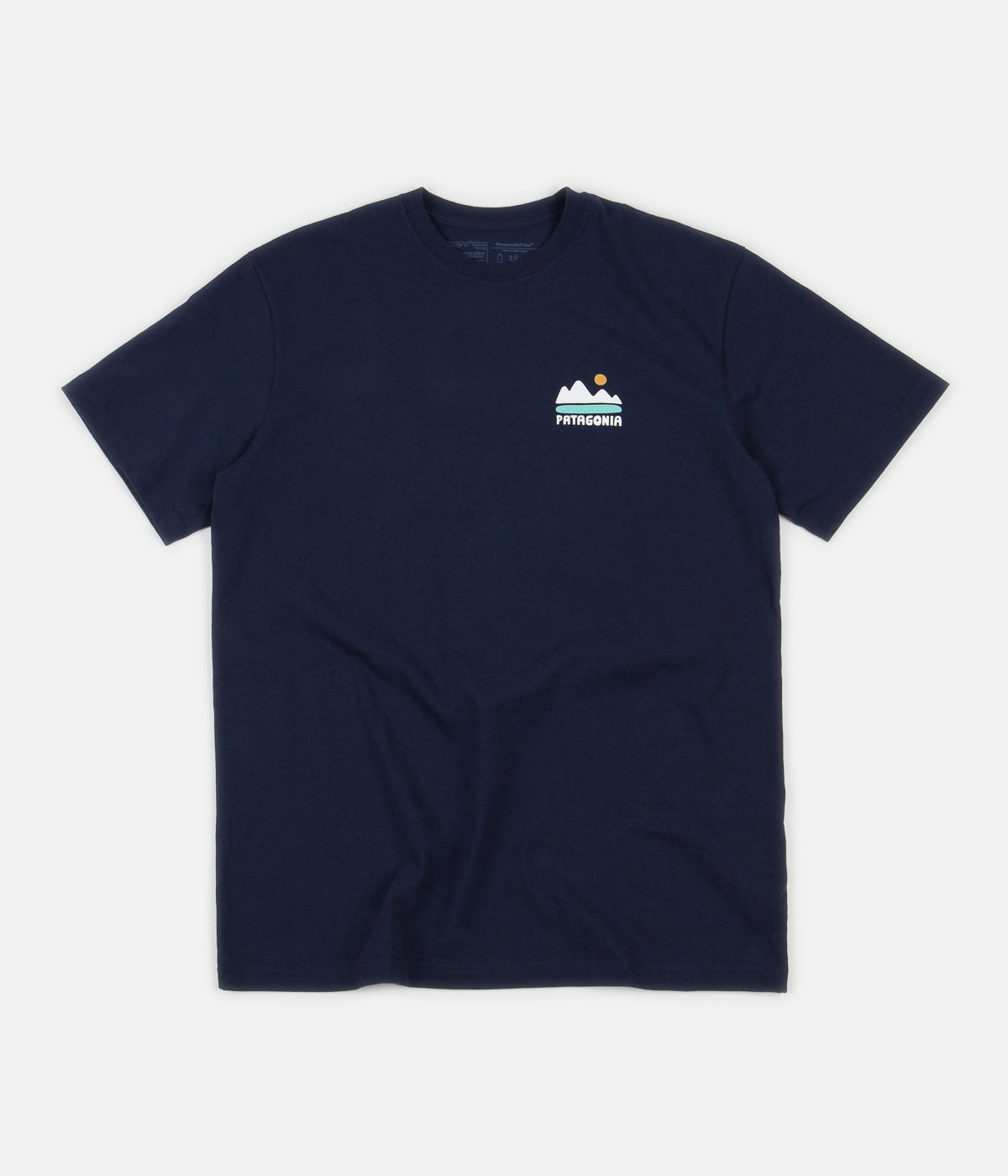 Patagonia Fed Up With Melt Down Responsibili-Tee T-Shirt - Classic Navy
