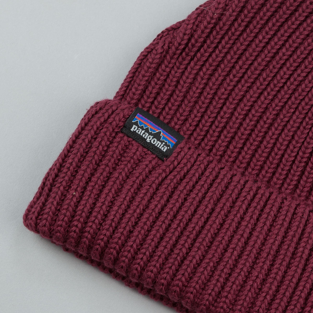 Patagonia Fisherman's Rolled Beanie - Oxblood Red