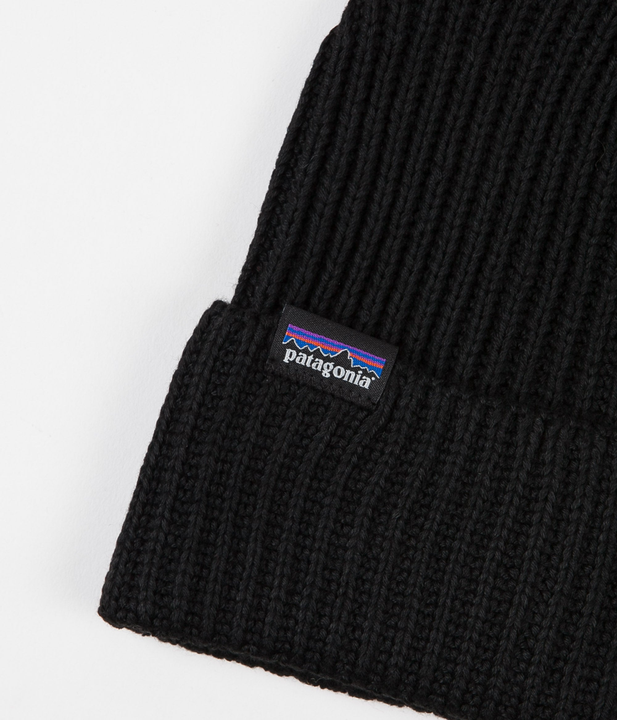 Patagonia Fisherman's Rolled Beanie - Black