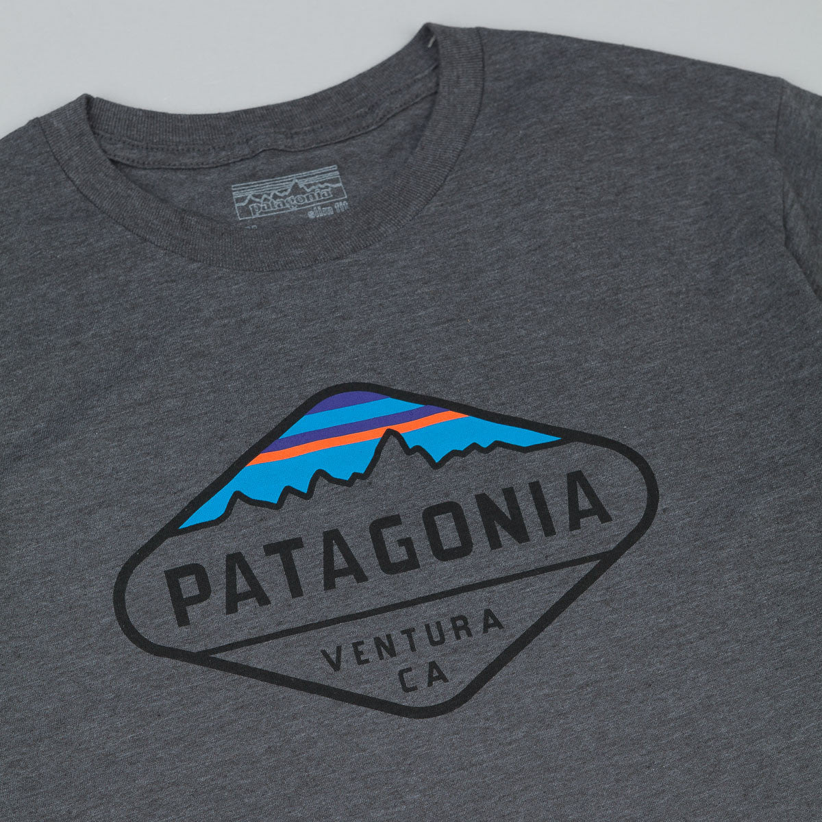 Patagonia Fitz Roy Crest T-Shirt - Forge Grey