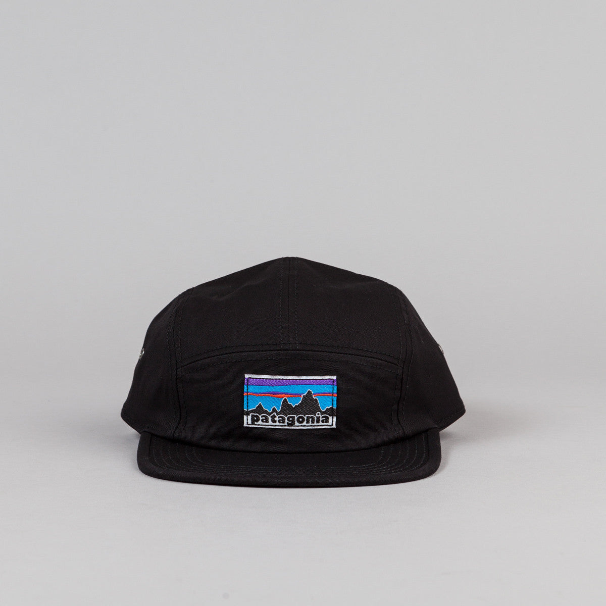 Patagonia Fitz Roy Label Tradesmith Cap - Black
