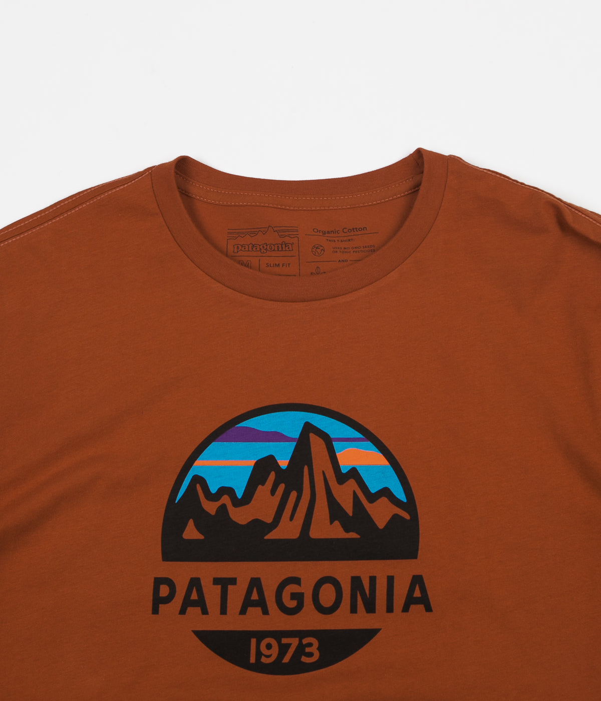 Patagonia Fitz Roy Scope Organic T-Shirt - Copper Ore