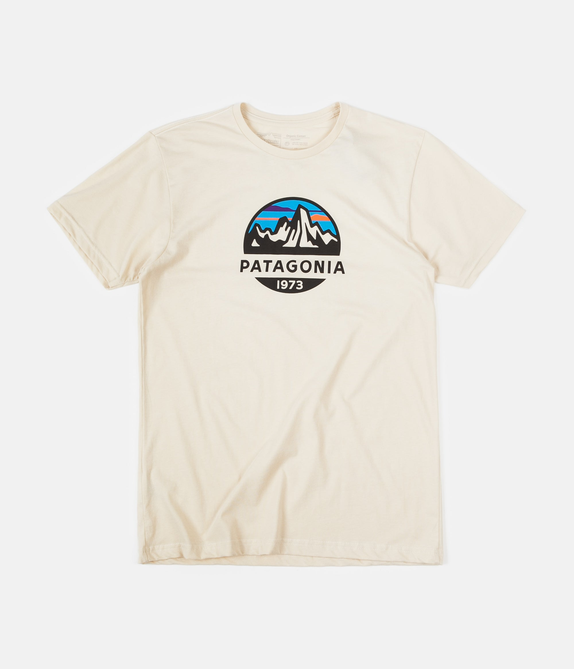 Patagonia Fitz Roy Scope Organic T-Shirt - Oyster White
