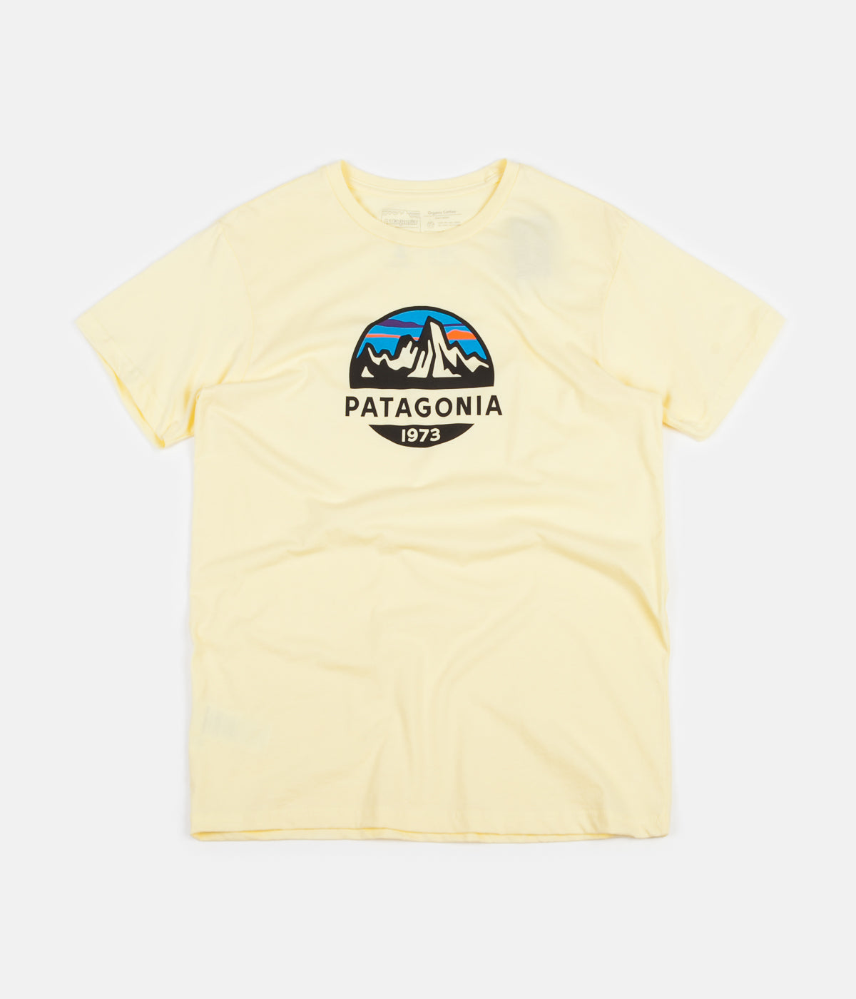 Patagonia Fitz Roy Scope Organic T-Shirt - Resin Yellow