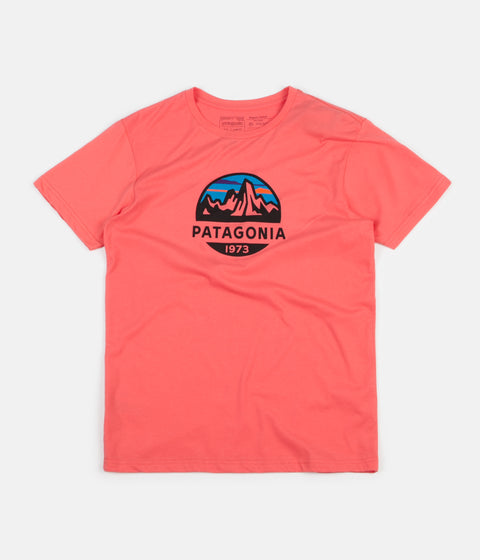 Patagonia Fitz Roy Scope Organic T-Shirt - Spiced Coral