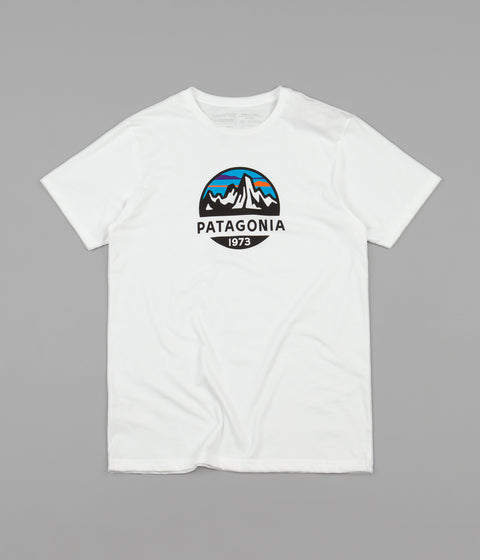 Patagonia Fitz Roy Scope Organic T-Shirt - White