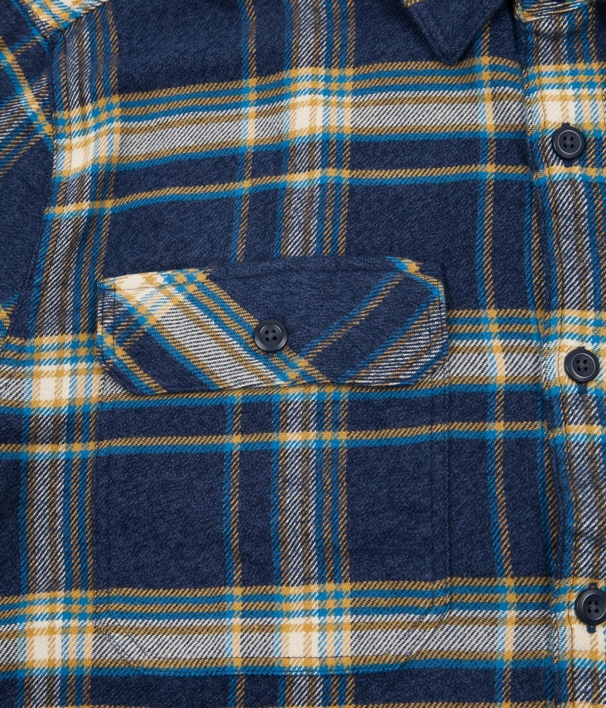 Patagonia Fjord Flannel Shirt - Activist / Navy Blue