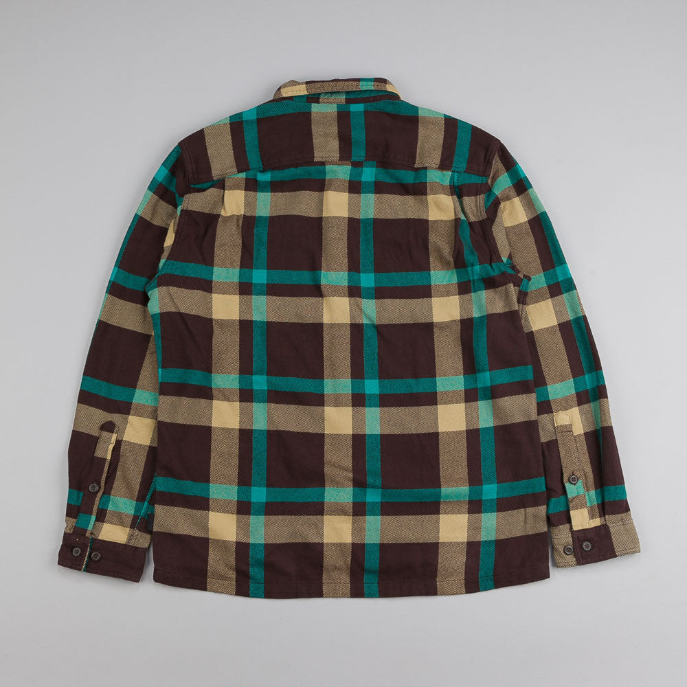 Patagonia Fjord Flannel Shirt Comstock Black Oak