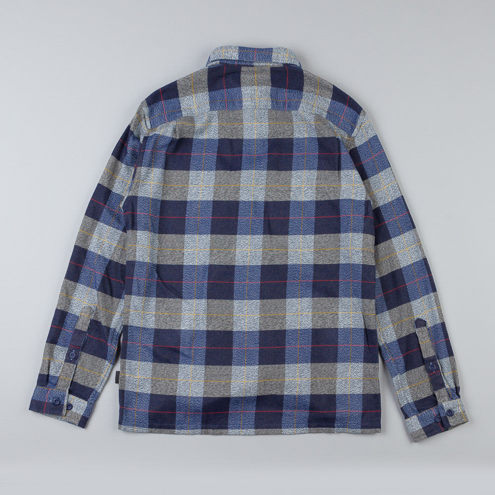 Patagonia Fjord Flannel Shirt Hayburner: Classic Navy