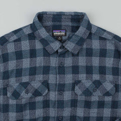 Patagonia Fjord Flannel Shirt - Tactile: Navy Blue